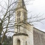 Eglise Sainte-Philomène (1852 et 1893). Première église construite par l'architecte E. BONNORE de Lesparre.