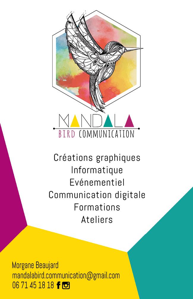 Pour Tous Renseignements Lun De Vos Projets Vous Pouvez La Contacter Au 06 71 45 18 Ou Par Mail Mandalabirdmunicationmail
